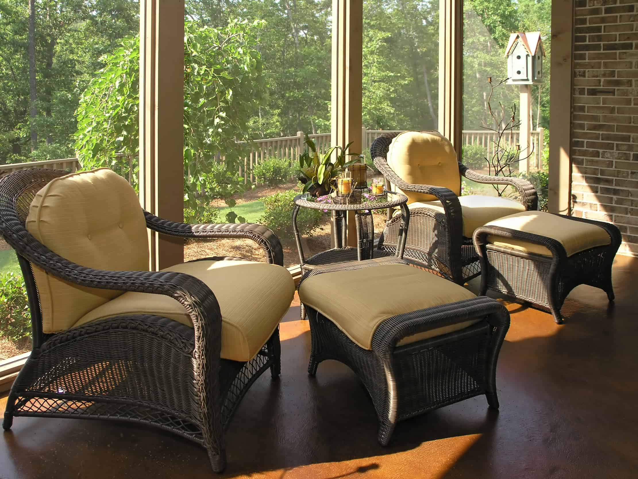 Different Choices for Outdoor Patio Furniture