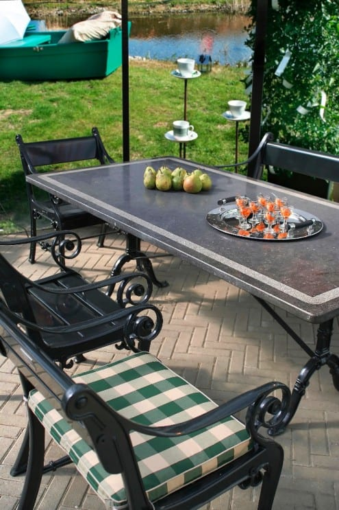 Outdoor living spaces with great buys from patio furniture clearance