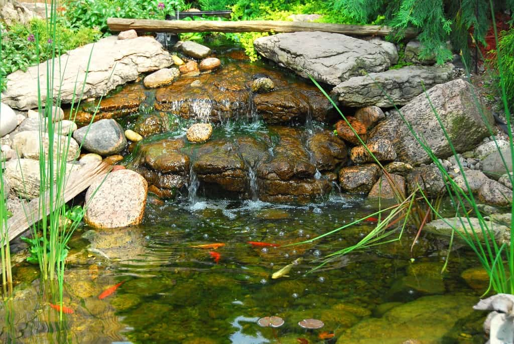 Turning Mediocre Into Marvelous With Backyard Ponds And Fountains