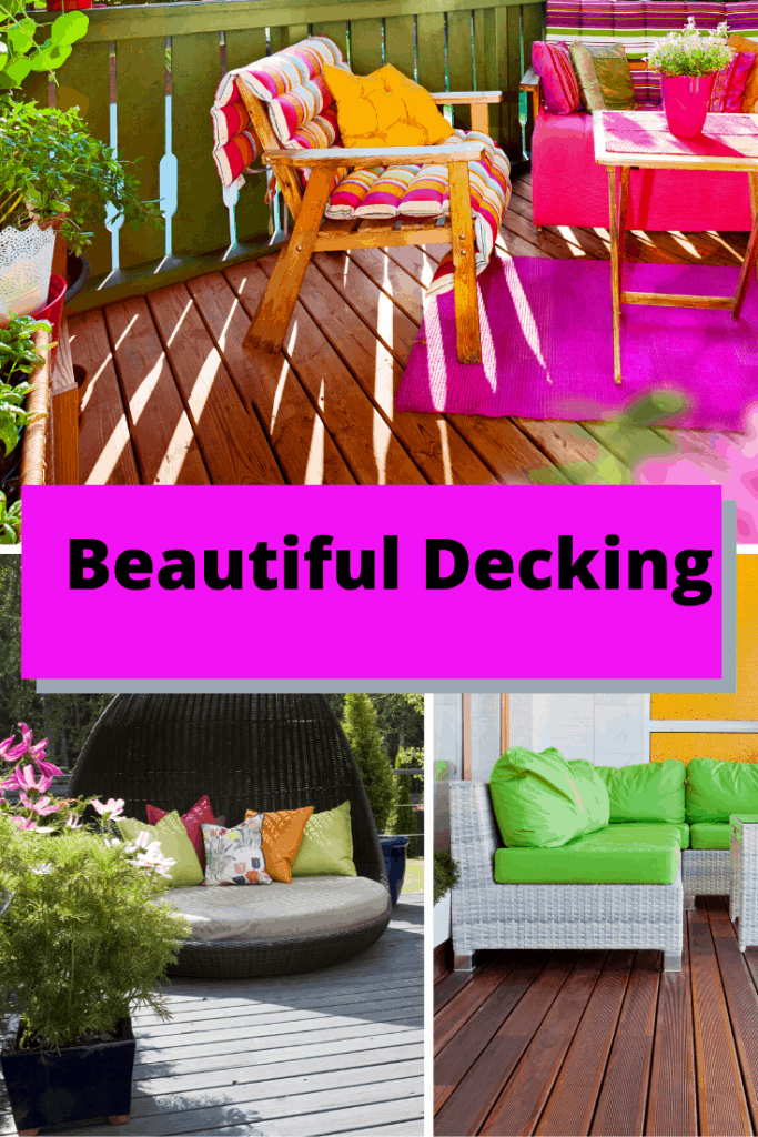Beautiful Decking Options with outdoor patio furniture